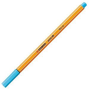 Caneta Stabilo Point 88 Azul Claro Fine 4,0mm 88/57