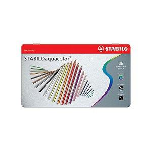 Lápis Aquarelavel Stabilo Aquacolor 36 Cores