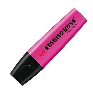Marca-Texto Stabilo Boss Original Rosa Escuro 70/58