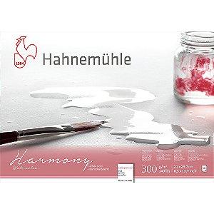 Bloco Aquarela Harmony 300g/m² Cold Pressed 21x29,7cm 12fls Hahnemuhle