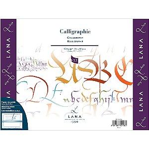 Bloco Calligraphie Lana 250g 24x32cm C/ 12Fls