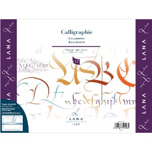 Bloco Calligraphie Lana 250g 30x40cm C/ 12 Fls