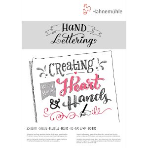 Bloco Hand Lettering 170g A3 C/ 25 Fls