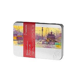 Cartão Postal Aquarela 230g 10,5 X 14,8 Cm G.F. C/ 30 Fls