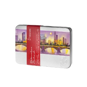 Cartão Postal Aquarela 230g 10,5 X 14,8 Cm G.T. C/ 30 Fls