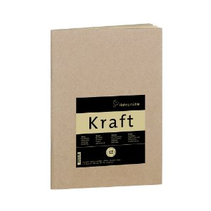 Sketch Booklet Kraft 120g A5 C/ 20 Fls