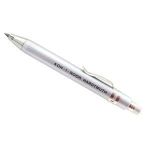 Lapiseira Portaminas 3,2mm Prata Koh-I-Noor 5358