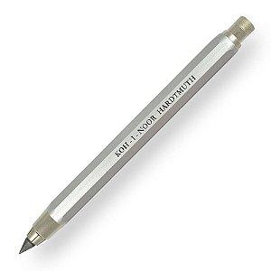 Lapiseira Portaminas 5,6mm Prata Koh-I-Noor 5340