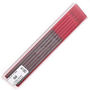 Mina Grafite 2,0mm 8B C/12 Unid. 4190