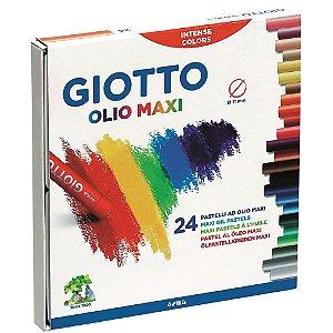 Giz Pastel Oleoso Giotto 24 Cores
