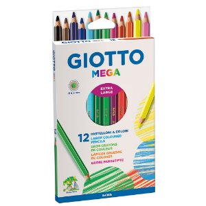 Lápis De Cor Giotto Mega 12 Cores