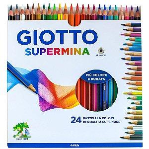 Lápis De Cor Giotto Supermina 24 Cores