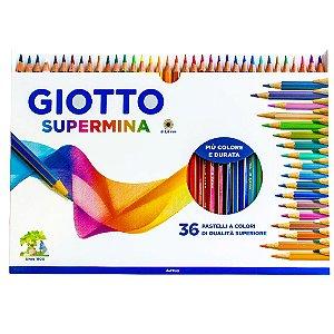 Lápis De Cor Giotto Supermina 36 Cores