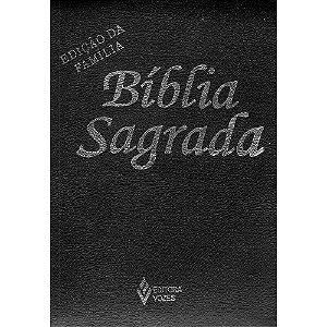 Bíblia Sagrada Ed.Família Media Zíper