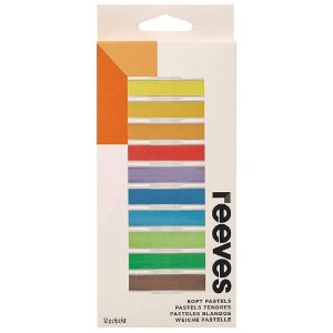 Giz Pastel Seco Reeves 12 Cores 8791125