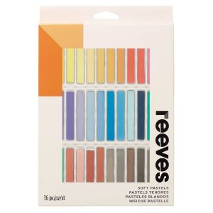 Giz Pastel Seco Reeves 36 Cores PS36 8790225