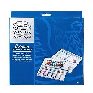 Aquarela Winsor & Newton Cotman Palette Set C/13 Peças 0390646
