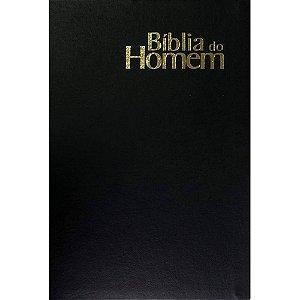 Bíblia Do Homem - Capa Semi Luxo Preta