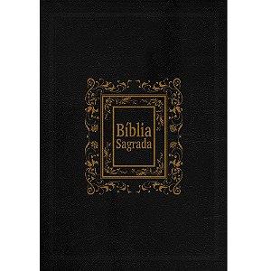 Bíblia Sagrada Rc Para Presente Com Caixa - Capa Luxo Preta