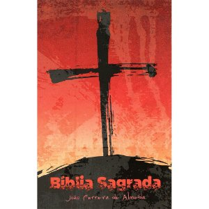 Bíblia Rc Grande 1cor Capa Especial C/ Lateral Artística - Cruz