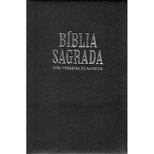Bíblia Sagrada Rc Gigante Com Mapa - Capa Ziper Preta