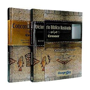 Coleção Crescer: Dicionário Bíblico Ilustrado E Concordância