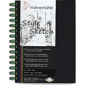 Caderno A5 Style Sketch Hahnemuhle 120 g/m² 64Fls Espiral Verde