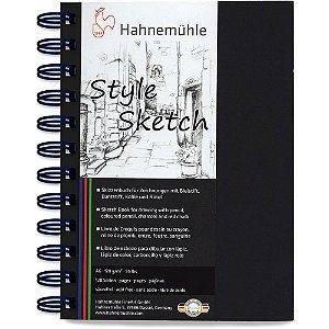 Caderno A6 Style Sketch Hahnemuhle 120 g/m² 64 Fls Espiral Azul