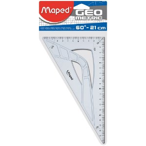 Esquadro Maped Geometric 60° - 21cm 242621