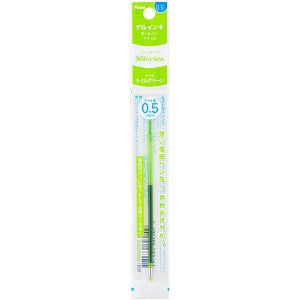 Refil para Caneta Iplus Sliccies Gel Verde Claro 0.5mm Pentel