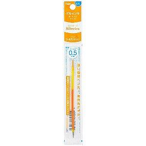 Refil para Caneta Iplus Sliccies Gel Laranja Claro 0.5mm Pentel