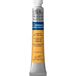 Tinta Aquarela Cotman Winsor & Newton Tubo 8ml Cadmium Yellow Hue 0303109