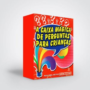 Caixa Mágica De Perguntas Para Crianças (A)
