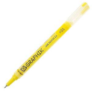 Caneta Graphik Line Painter 0.5mm Cor #01 Brickroad 301388