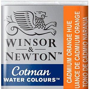 Aquarela Em Pastilha Cotman Winsor E Newton Avulso Cadmium Orange Hue 0301090