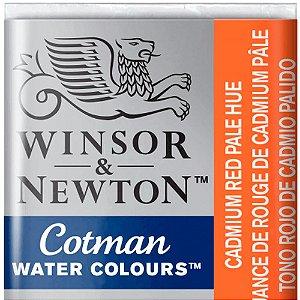 Aquarela Em Pastilha Cotman Winsor E Newton Avulso Cadmium Red Pale Hue 0301103