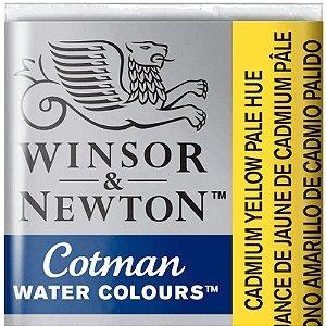 Aquarela Em Pastilha Cotman Winsor E Newton Avulso Cadmium Yellow Pale Hue 0301119