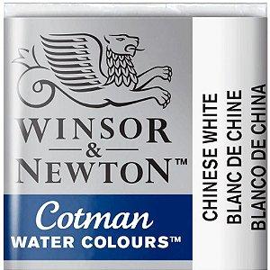 Aquarela Em Pastilha Cotman Winsor E Newton Avulso Chinese White 0301150