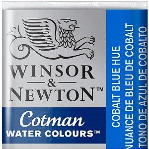 Aquarela Em Pastilha Cotman Winsor E Newton Avulso Cobalt Blue Hue 0301179