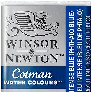 Aquarela Em Pastilha Cotman Winsor E Newton Avulso Intense Blue 0301327