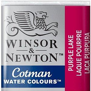 Aquarela Em Pastilha Cotman Winsor E Newton Avulso Purple Lake 0301544