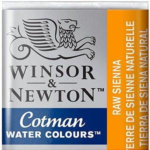 Aquarela Em Pastilha Cotman Winsor E Newton Avulso Raw Sienna 0301552
