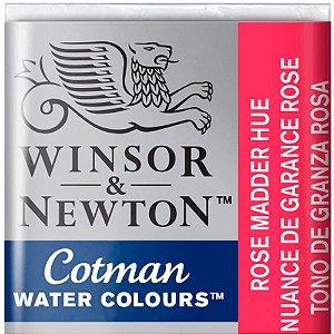 Aquarela Em Pastilha Cotman Winsor E Newton Avulso Rose Madder Hue 0301580