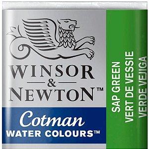Aquarela Em Pastilha Cotman Winsor E Newton Avulso Sap Green 0301599