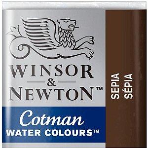 Aquarela Em Pastilha Cotman Winsor E Newton Avulso Sepia 0301609