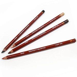 Lápis De Cor Permanente Drawing Unitário Ivory Black 266515