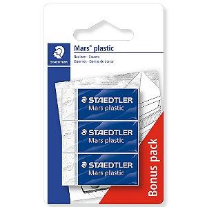 Kit 3 Borracha Mars Plastic Staedtler Técnica Premium Lápis Grafite 526 53