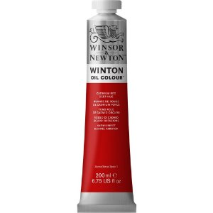 Tinta Winton Óleo Cadmium Red Deep Hue Winsor & Newton 200ml