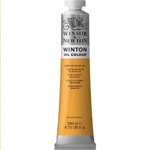 Tinta Óleo Winton Cadmium Yellow Hue Winsor & Newton 200ml