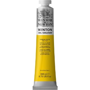 Tinta Óleo Winton Cadmium Yellow Pale Hue Winsor & Newton 200ml
